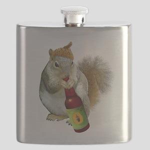 Squirrel Acorn Beer Flask