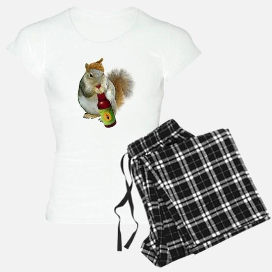 Squirrel Acorn Beer Pajamas
