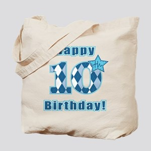 Happy 10th Birthday! Tote Bag