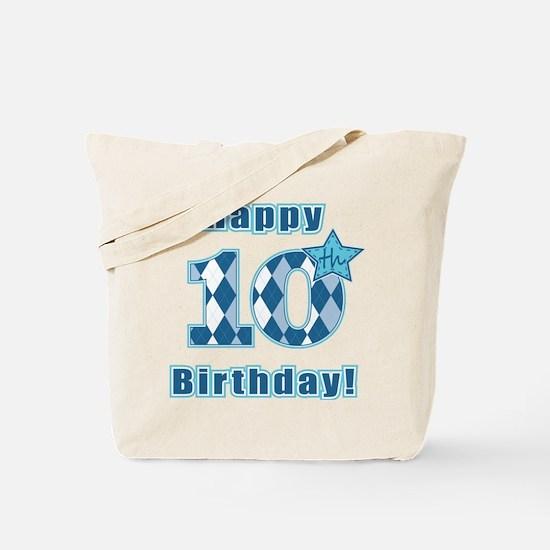 Happy 10th Birthday! Tote Bag