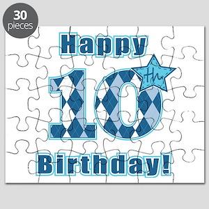 Happy 10th Birthday! Puzzle