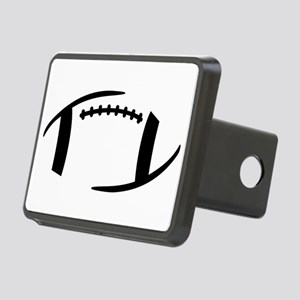 Football Rectangular Hitch Cover