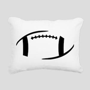 Football Rectangular Canvas Pillow