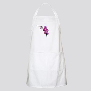 Orchid Spray White copy Apron