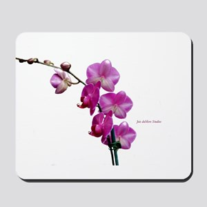 Orchid Spray White copy Mousepad