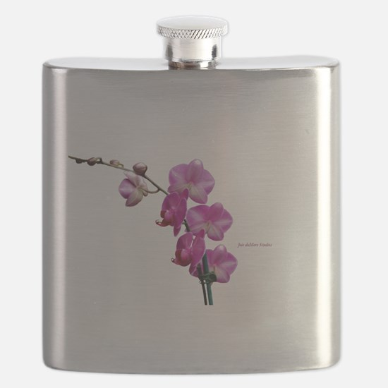 Orchid Spray White copy Flask