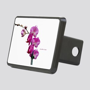 Orchid Spray White copy Hitch Cover