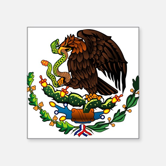 Mexico Eagle Oval Sticker