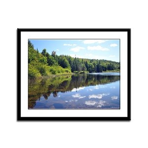 9X12 Framed Print- Adirondack Lake 12
