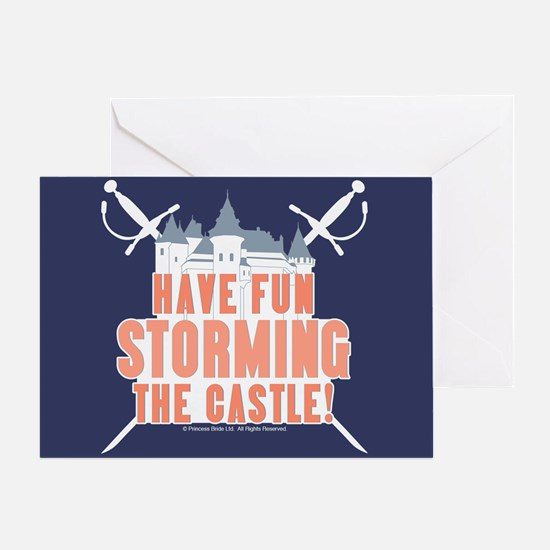 Princess Bride Storming the Castle Greeting Card