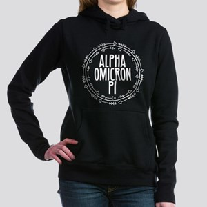 Alpha Omicron Pi Arrows Women's Hooded Sweatshirt