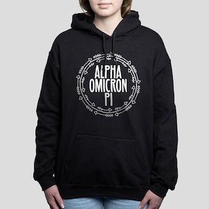 Alpha Omicron Pi Arrows Women's Hooded Sweatshirt