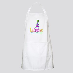 Lacrosse Goalie Make A Difference Apron
