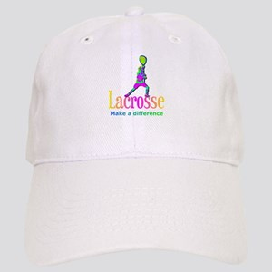 Lacrosse Goalie Make A Difference Baseball Cap