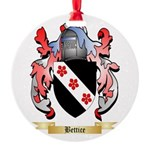 Bettice Round Ornament