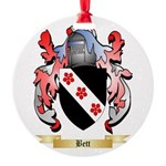 Bett Round Ornament