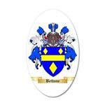 Bethune 35x21 Oval Wall Decal