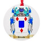 Betaude Round Ornament