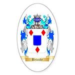 Betaude Sticker (Oval 50 pk)