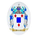 Betaude Ornament (Oval)