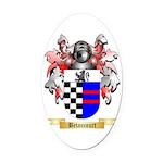 Betancourt Oval Car Magnet