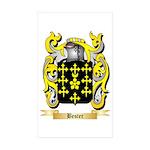 Bester Sticker (Rectangle 50 pk)