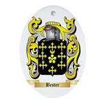 Bester Ornament (Oval)