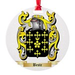 Beste Round Ornament