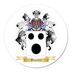 Bessler Round Car Magnet