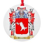 Bessette Round Ornament