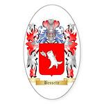 Bessette Sticker (Oval 10 pk)