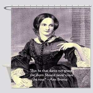 Anne Bronte Shower Curtain