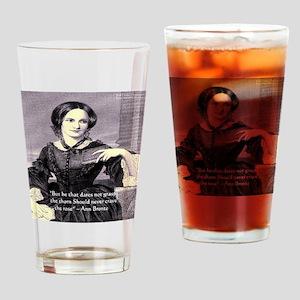 Anne Bronte Drinking Glass