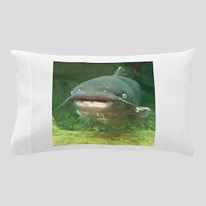 Curious Catfish Pillow Case