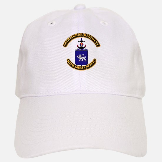 COA - 68th Armor Regiment Baseball Baseball Cap