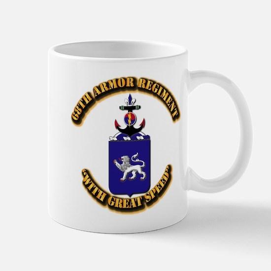 COA - 68th Armor Regiment Mug