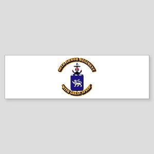 COA - 68th Armor Regiment Sticker (Bumper)