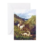 """The Hunt"" Borzoi Cards (20 PK)"