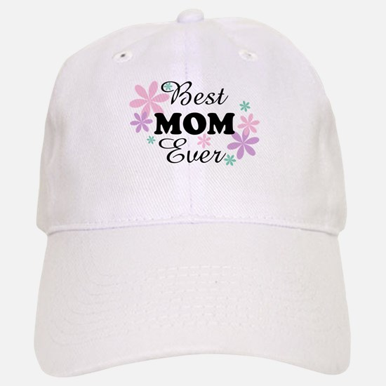 Best Mom Ever fl 1.3 Baseball Baseball Cap