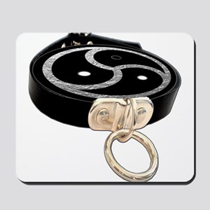 BDSM EMBLEM with Leather Collar Mousepad