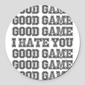 Good Game Round Car Magnet
