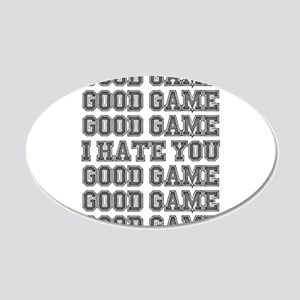 Good Game Wall Decal