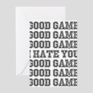 Good Game Greeting Card
