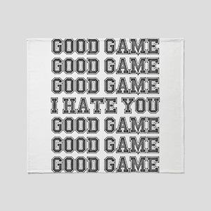 Good Game Throw Blanket