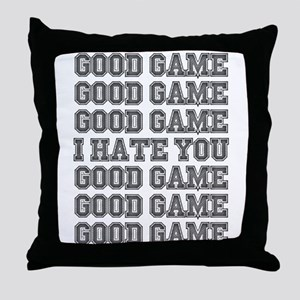 Good Game Throw Pillow