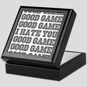 Good Game Keepsake Box