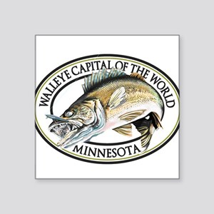 Walleye Capital of the World Sticker