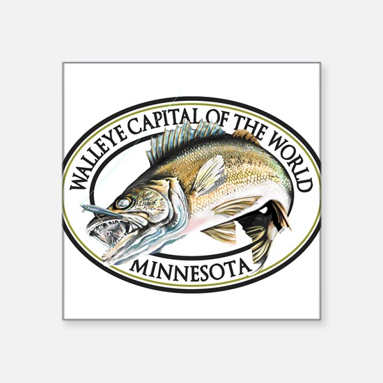 Walleye Capital of the World Sticker