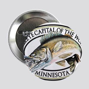 "Walleye Capital of the World 2.25"" Button"