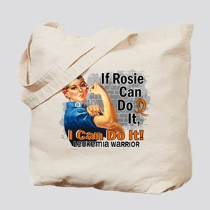 If Rosie Can Do It Leukemia Tote Bag